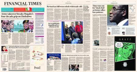 Financial Times Europe – 16 November 2017