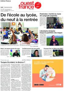 Ouest-France Édition France – 28 août 2019