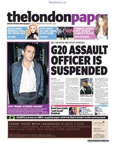 The London Paper 15 April 2009