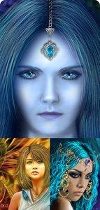 Artworks by Lily Samarenkova