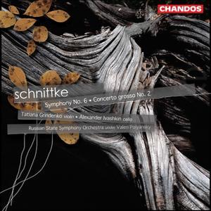 Russian State SO; V. Polyansky, T. Grindenko, A. Ivashkin - Alfred Schnittke: Symphony No. 6; Concerto grosso No. 2 (2004)