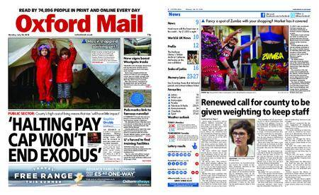 Oxford Mail – July 30, 2018