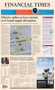 Financial Times Europe – 17 September 2019