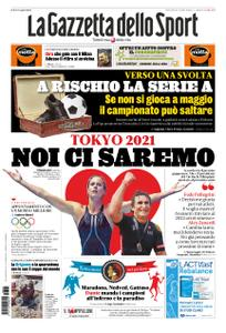 La Gazzetta dello Sport Roma – 25 marzo 2020