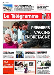 Le Télégramme Brest – 05 janvier 2021