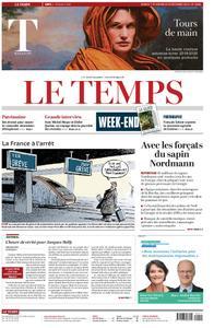 Le Temps - 07 décembre 2019
