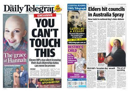 The Daily Telegraph (Sydney) – August 23, 2017