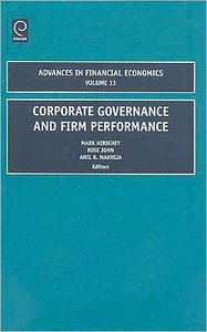 Corporate Governance and Firm Performance