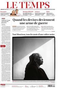 Le Temps - 07 août 2019