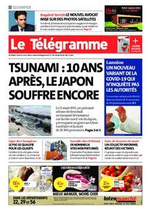 Le Télégramme Quimper – 11 mars 2021