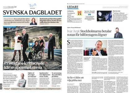 Svenska Dagbladet – 11 december 2017