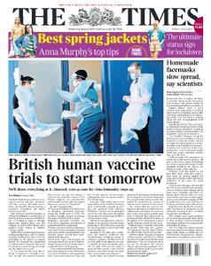 The Times - 22 April 2020