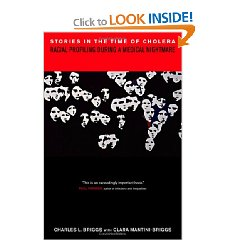 Stories in the Time of Cholera: Racial Profiling During a Medical Nightmare (Hardcover)