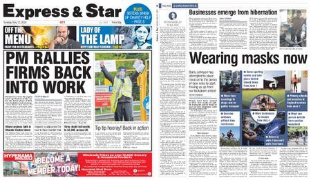 Express and Star City Edition – May 12, 2020