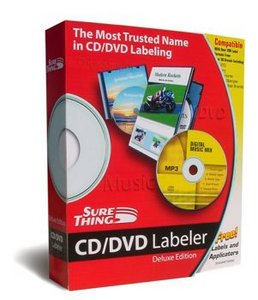 SureThing CD/DVD Labeler Deluxe 5.1.614.0 Portable