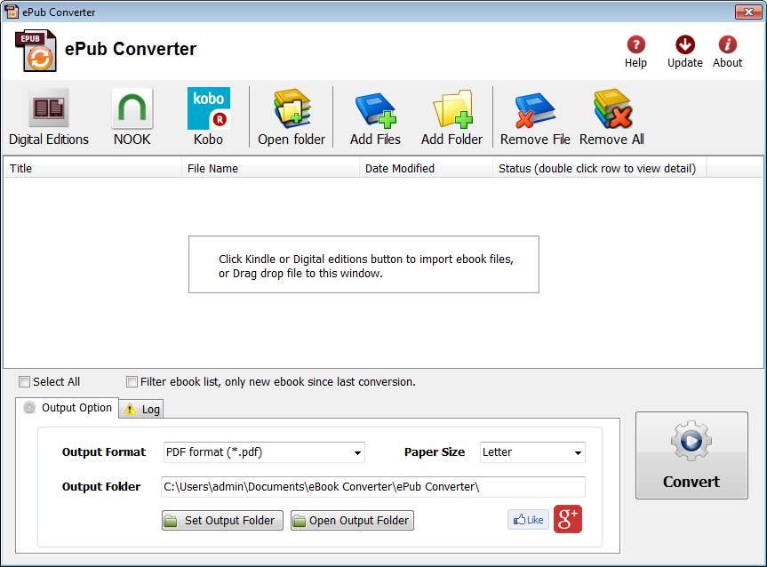 ePub Converter 3.17.1023.377 Portable