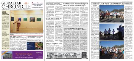 Gibraltar Chronicle – 02 July 2020