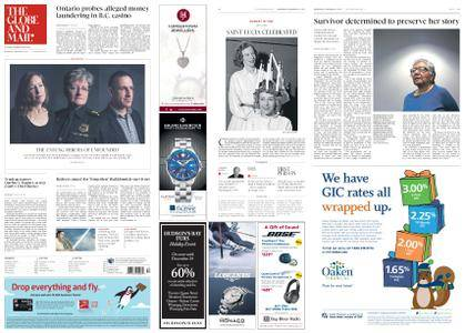 The Globe and Mail – December 13, 2017