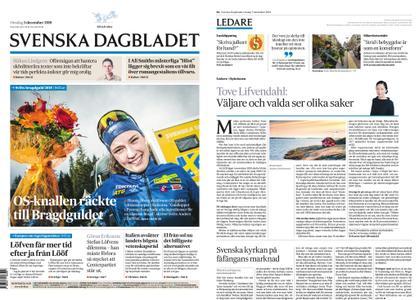 Svenska Dagbladet – 05 december 2018