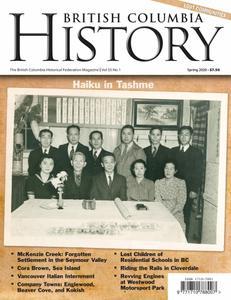 British Columbia History – February 2020