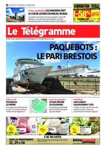 Le Télégramme Brest Abers Iroise – 03 septembre 2020