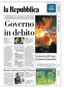 la Repubblica - 26 Marzo 2019
