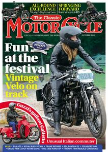 The Classic MotorCycle - October 2019