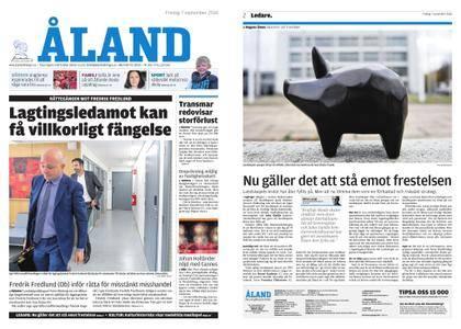 Ålandstidningen – 07 september 2018