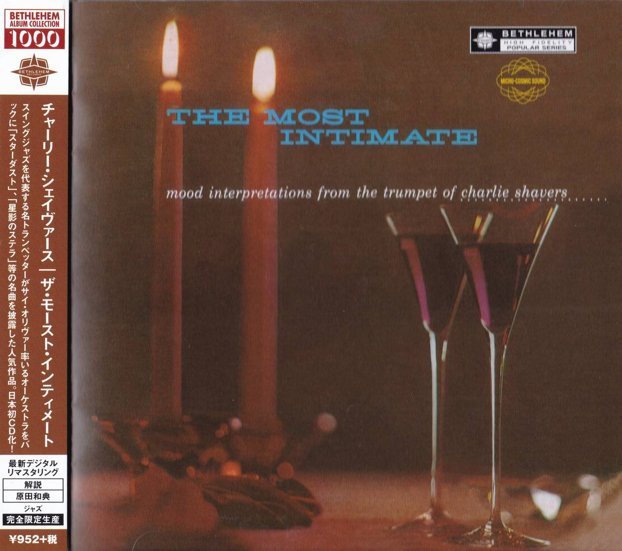 Charlie Shavers - The Most Intimate (1955) {2014 Japan Bethlehem Album Collection 1000 CDSOL-6152}