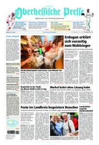 Oberhessische Presse Hinterland - 25. Juni 2018