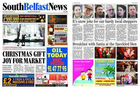South Belfast News – December 15, 2017