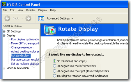How To Rotate Your Monitor Screen Display