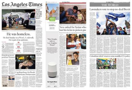 Los Angeles Times – September 05, 2019