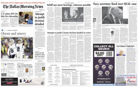The Dallas Morning News – November 25, 2019