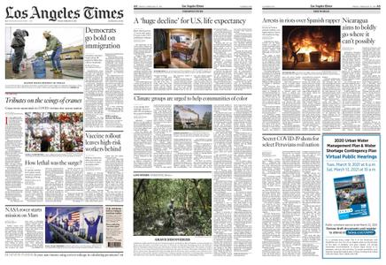 Los Angeles Times – February 19, 2021