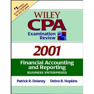 Wiley CPA Examination Review, Financial Accounting and Reporting