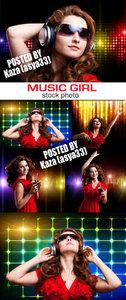 Music & dance girl