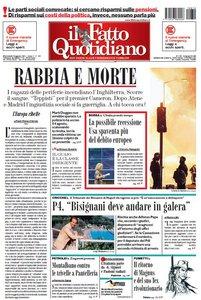 Il Fatto Quotidiano (10-08-11)