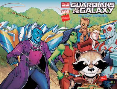 Guardians of the Galaxy - Hi-Tech Heroes Presented by Hanes 001 2017 digital-Empire