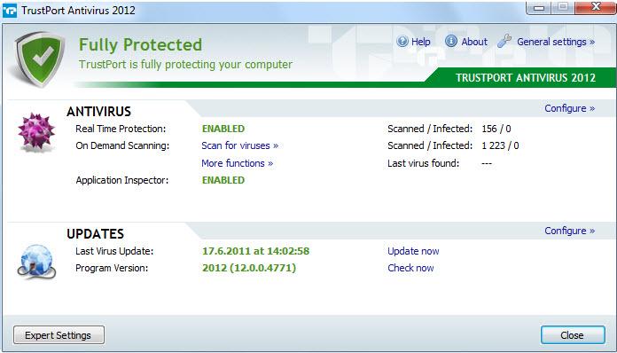 TrustPort Antivirus 2012 12.0.0.4798 Multilanguage