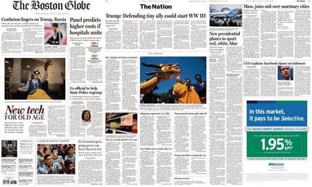 The Boston Globe – July 19, 2018