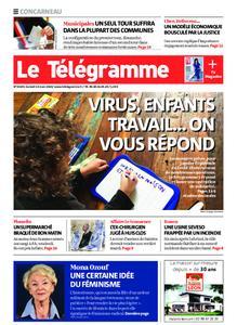 Le Télégramme Concarneau – 14 mars 2020