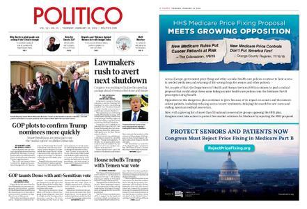 Politico – February 14, 2019
