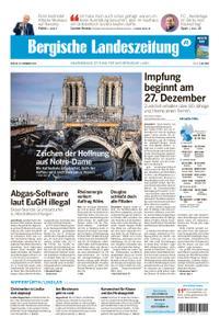 Kölnische Rundschau Wipperfürth/Lindlar – 18. Dezember 2020
