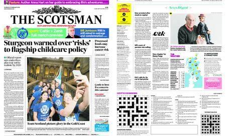 The Scotsman – February 15, 2018