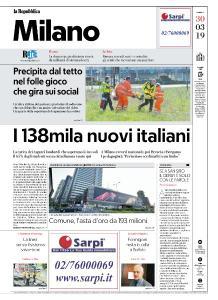 la Repubblica Milano - 30 Marzo 2019