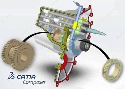 DS CATIA Composer R2017x Refresh5