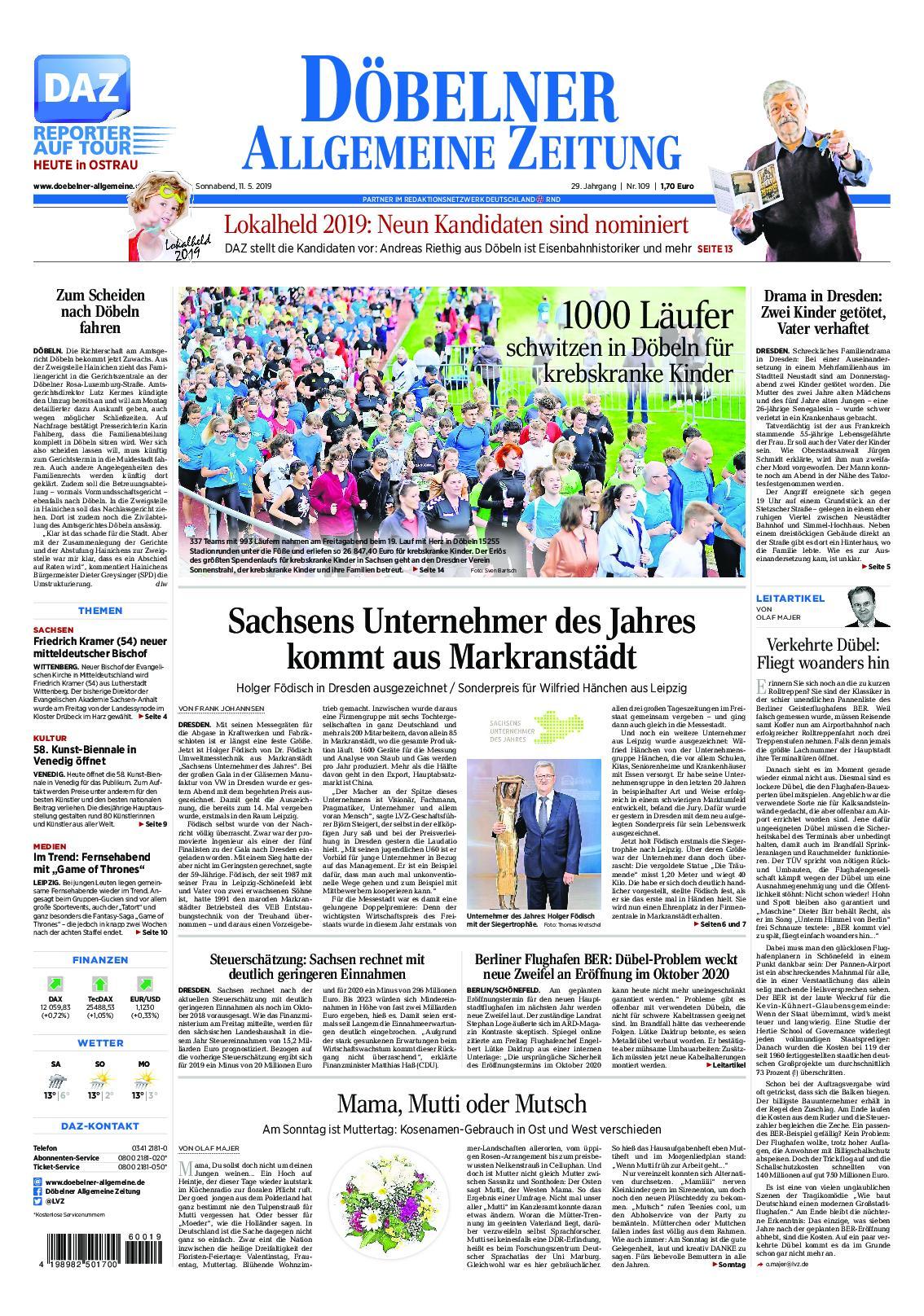 Döbelner Allgemeine Zeitung Traueranzeigen