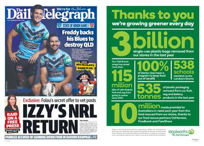 The Daily Telegraph (Sydney) – June 05, 2019