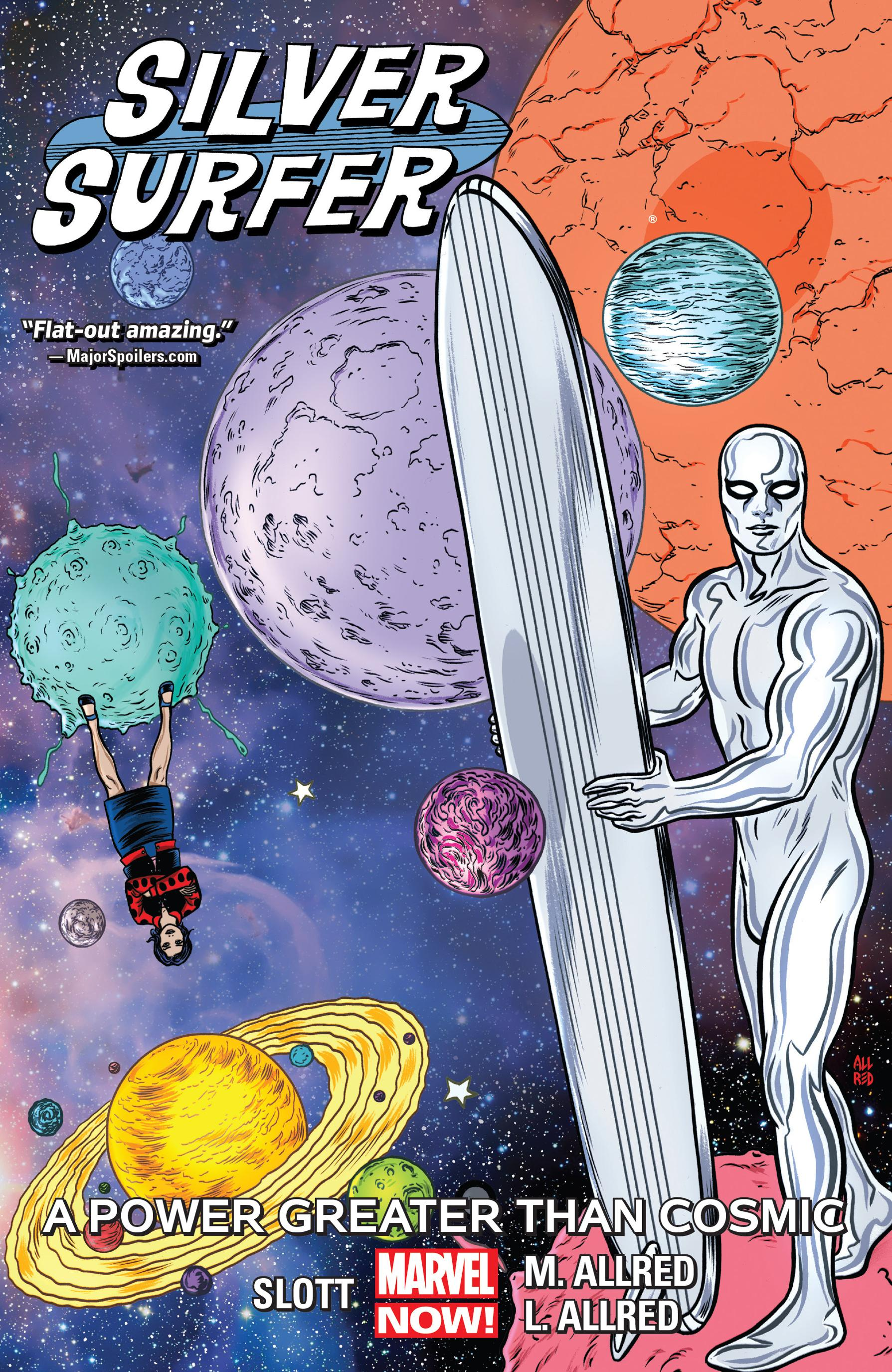 Silver Surfer v05-A Power Greater Than Cosmic 2017 Digital F Zone